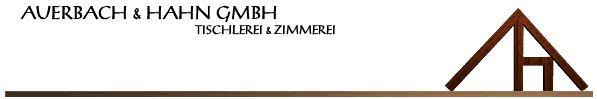 Auerbach und Hahn GmbH